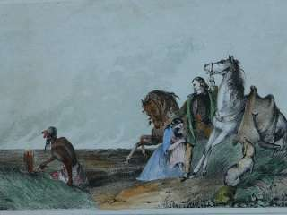 1865 RICE RUTTER NATIVE AMERICAN INDIAN PRAIRIE FIRE