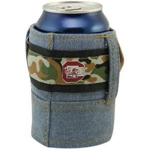 NCAA South Carolina Gamecocks Camo Brew Jean Can Coolie