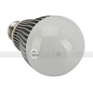 265V 400LM Warm White Dimmable LED Lamp Light Bulb With Remote Control
