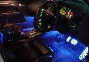 BLUE LED INTERIOR LIGHTS SATURN ION OR AURA