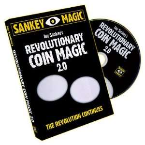 Magic DVD Revolutionary Coin Magic 2.0 by Jay Sankey Toys & Games