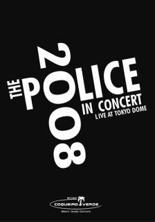 RARE THE POLICE DVD  Live Reunion Tour 2008 ALL REGIONS Tokyo Dome
