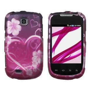 Samsung Dart Rubberized Hard Case Cover   Exotic Love