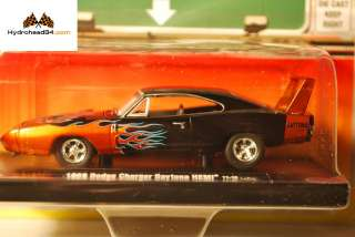 M2 Machines 1969 Dodge Charger HEMI Daytona ~ Drivers R12