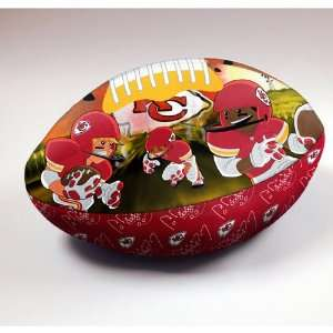 Kansas City Chiefs NFL Football Rush Pillow