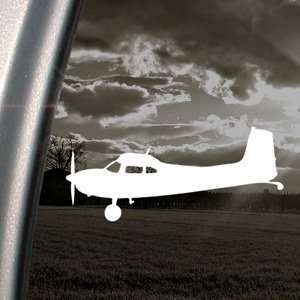 Cessna 180 Skywagon Side Silhouette Decal Car Sticker