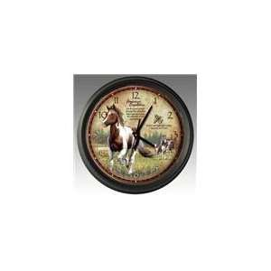 16 Paint Horse Wall Clock