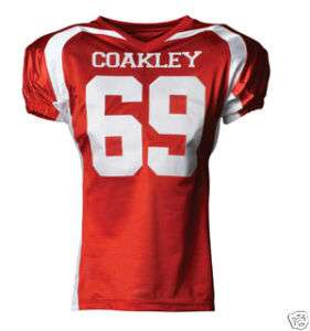 CUSTOM TEAM FOOTBALL GAME JERSEY WITH LOGO & #