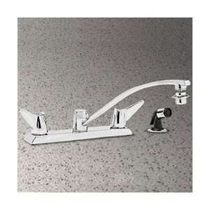Elkay Chrome Two Handle Kitchen Faucet