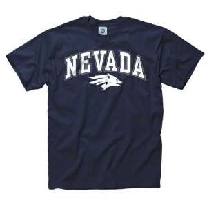 Nevada Wolf Pack Youth Navy Perennial II T Shirt