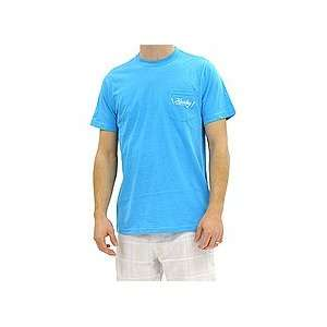 Hurley Future Pocket Premium Tee (Heather Cyan) Large   Shirts 2012
