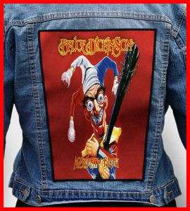 BRUCE DICKINSON Huge Jacket Patch [Iron Maiden]