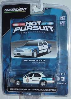 Series # 9 2008 Ford Crown Vic Police Interceptor Raleigh Police NC