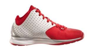 UNDER ARMOUR MENS UA MICRO G THREAT BASKETBALL SHOES 1222925 WHITE RED