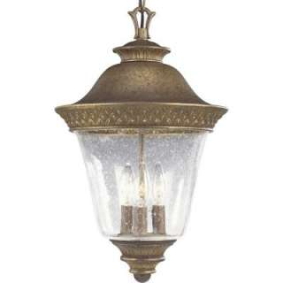 Progress Lighting Savannah Collection Burnished Chestnut 3 Light