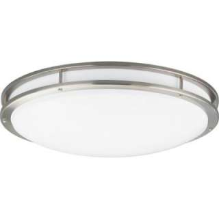 Progress Lighting Brushed Nickel 3 Light Fluorescent Fixture P7252