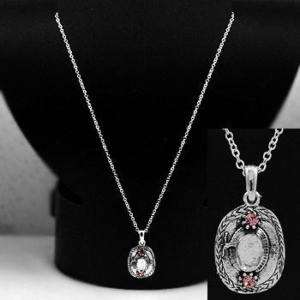 WESTERN COWGIRL HAT PINK COWBOY RODEO NECKLACE 268 D