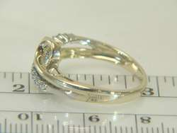10K Yellow Gold Diamond Estate Ring Size 7