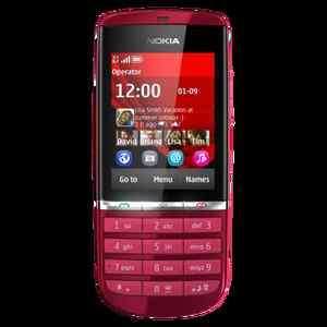BRAND NEW Nokia Asha 300 UNLOCKED GSM SmartPhone AT&T 3G   Red
