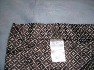 CARTERS Everyday Easy Blue & Brown Plush Blanket NWOT