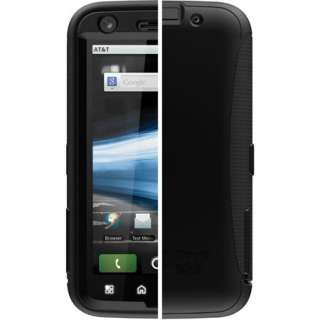 New Otterbox Motorola ATRIX 4G Defender Case & Holster Black Cover