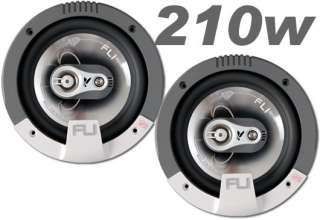 Mitsubishi L200 Front Door Speaker Kit 210W Fli Audio