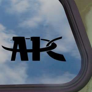 APC Black Decal Car Truck Bumper Window Vinyl Sticker