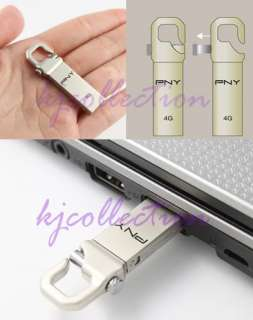 PNY 32GB 32G USB Flash Pen Drive Metal Housing HOOK