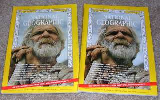 National Geographic JANUARY 1973 OLDEST PEOPLE, Leakey