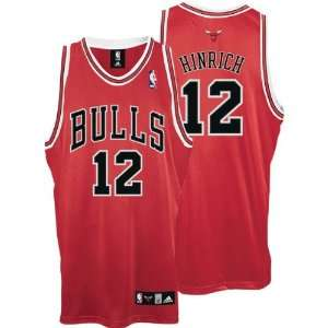 Red adidas NBA Authentic Chicago Bulls Jersey