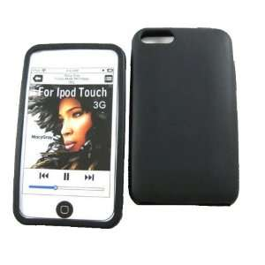 com mobile palace  Black silicone case cover pouch holster for Apple