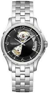 Hamilton Jazzmaster Open Heart Automatic Black Dial Mens Watch