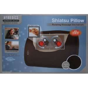 Homedics Therapist Select SP 10H Shiatsu Pillow, Chocolate