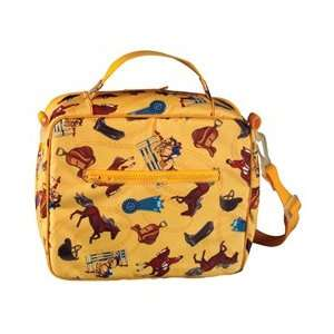 HORSE pony YELLOW girl soft lunchbox LUNCH BOX tote bag