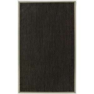 Black Indoor / Outdoor Rug Size 6 x 9