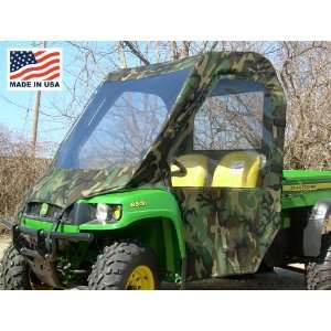 John Deere Gator HPX XUV Full Cab Enclosure with Vinyl Windshield by