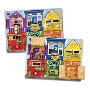Melissa & Doug Wooden Latches Board Toys & Games