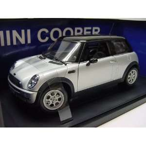 Diecast BMW Mini Cooper Silver Color  Toys & Games