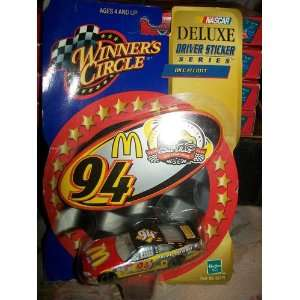 Nascar Winners Circle Deluxe Driver Sticker Series Bill