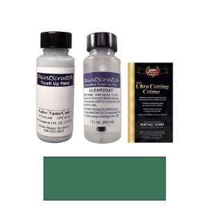 1 Oz. Oriental Blue Green Metallic Paint Bottle Kit for