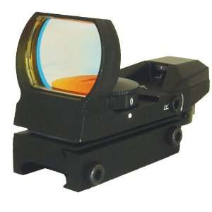Target Sports Reflex Sight 4 Reticle 2 Color Red & Green