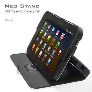 SGP Samsung Galaxy Tab Case NEO Stand Series [Black] Cell