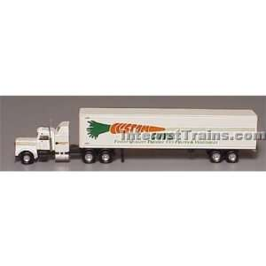 Con Cor N Scale Semi Truck w/48 Trailer   Custom Cuts Toys & Games