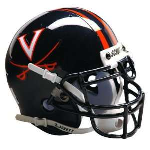CAVALIERS OFFICIAL FULL SIZE SCHUTT FOOTBALL HELMET