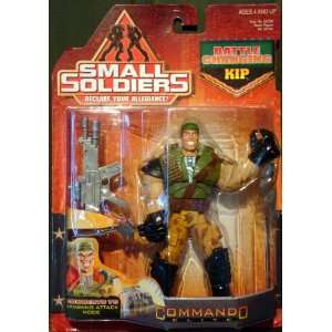 Small Soldiers BATTLE CHANGING KIP Action Figure RARE moc Toys