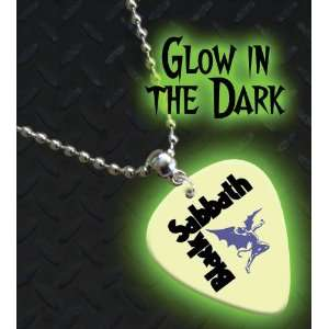 In The Dark Premium Guitar Pick Necklace / Chain Musical Instruments
