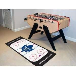 Toronto Maple Leafs Hockey Rink Runner Area Rug/Carpet