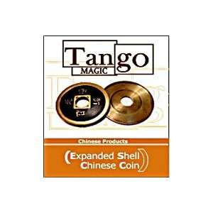 Expanded Chinese Coin Shell  TANGO  Money Magic Tr Toys & Games