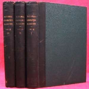 THE NATIONAL GEOGRAPHIC MAGAZINE ( 1912, VOLS. 1,2,3