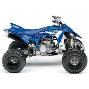Yamaha YFZ450R Wild ATV Graphic Kit (Blue) (2009 2012